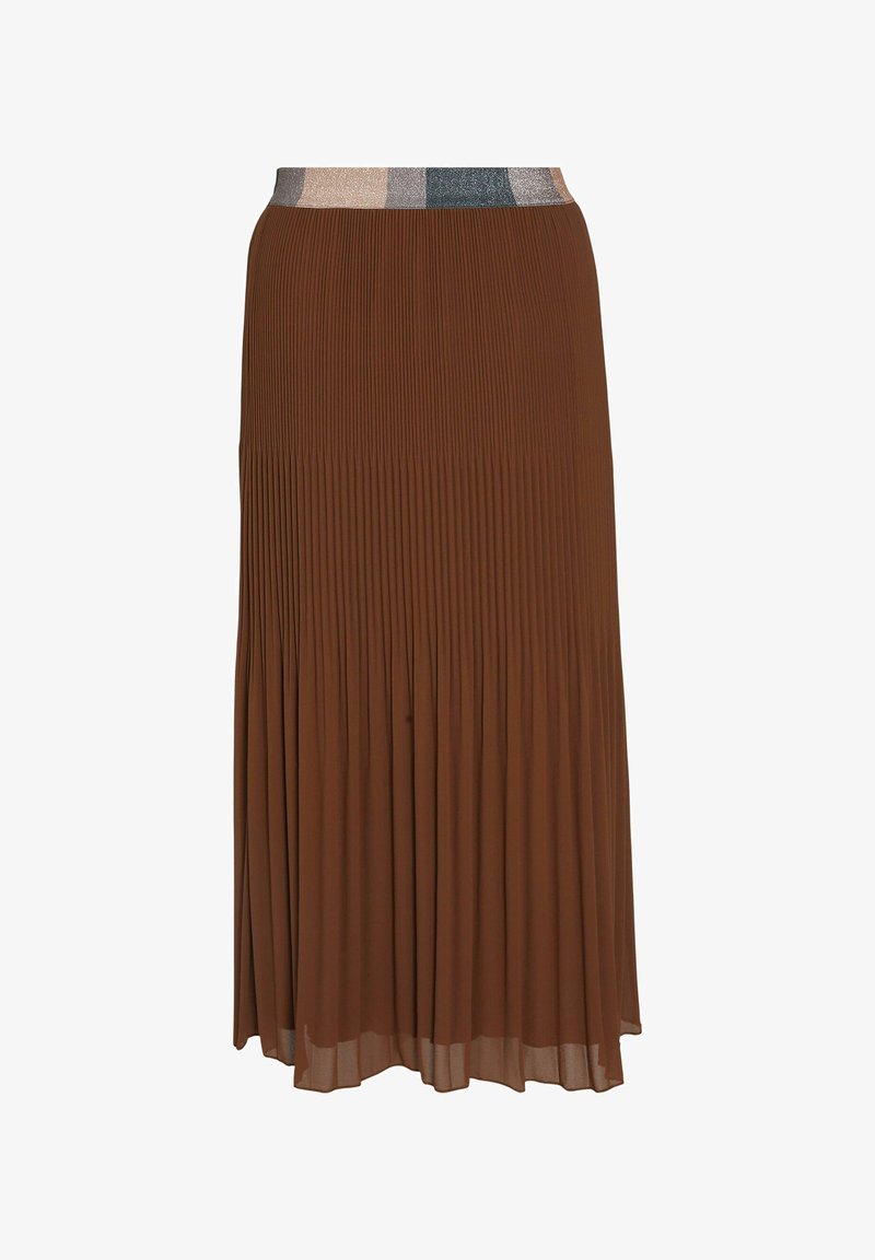 Paprika - VOILE - Pleated skirt - caramel