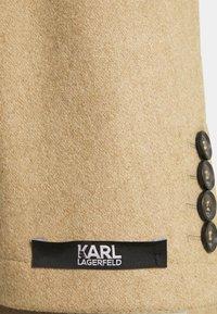 KARL LAGERFELD - COAT FLIGHT  - Classic coat - camel - 2