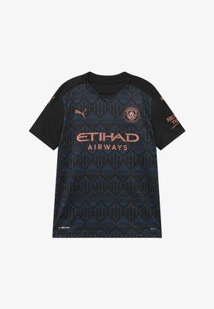 MANCHESTER CITY AWAY REPLICA - Club wear - black/dark denim