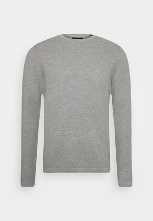 ONSPANTER LIFE CREW  - Stickad tröja - medium grey melange