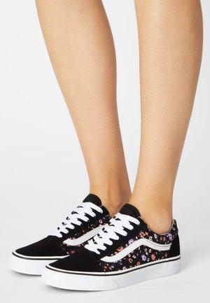 UA OLD SKOOL - Sneakers - ditsy/true white