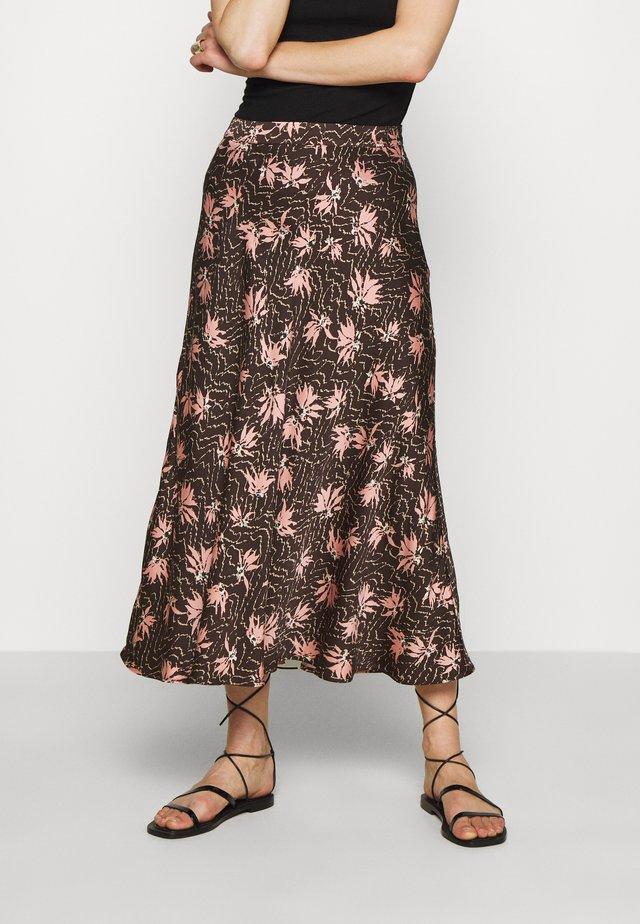SKIRT BILLIE - Spódnica trapezowa - brown