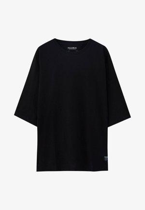 LOOSE - Basic T-shirt - black