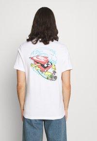 Nike Sportswear - TEE HAVE A DAY - T-shirt print - white - 2