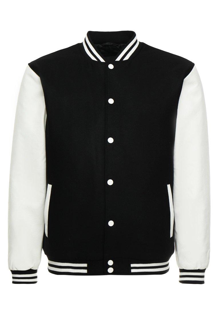Urban Classics OLDSCHOOL COLLEGE Lett jakke black