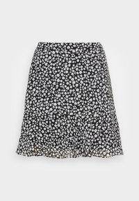 Marks & Spencer London - SOFT SKI - A-line skirt - black - 3