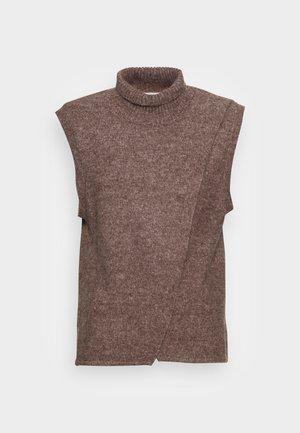 TARIS - Pullover - shopping bag melange