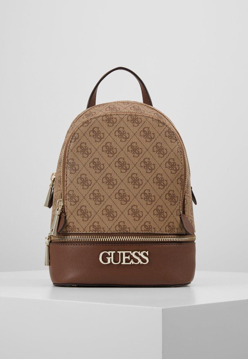 Guess - SKYE BACKPACK - Rucksack - brown