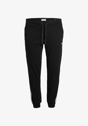 PLUS SIZE TAPERED FIT - Tracksuit bottoms - black