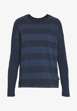 WOMENS STRIPE - Camiseta de manga larga - urban navy