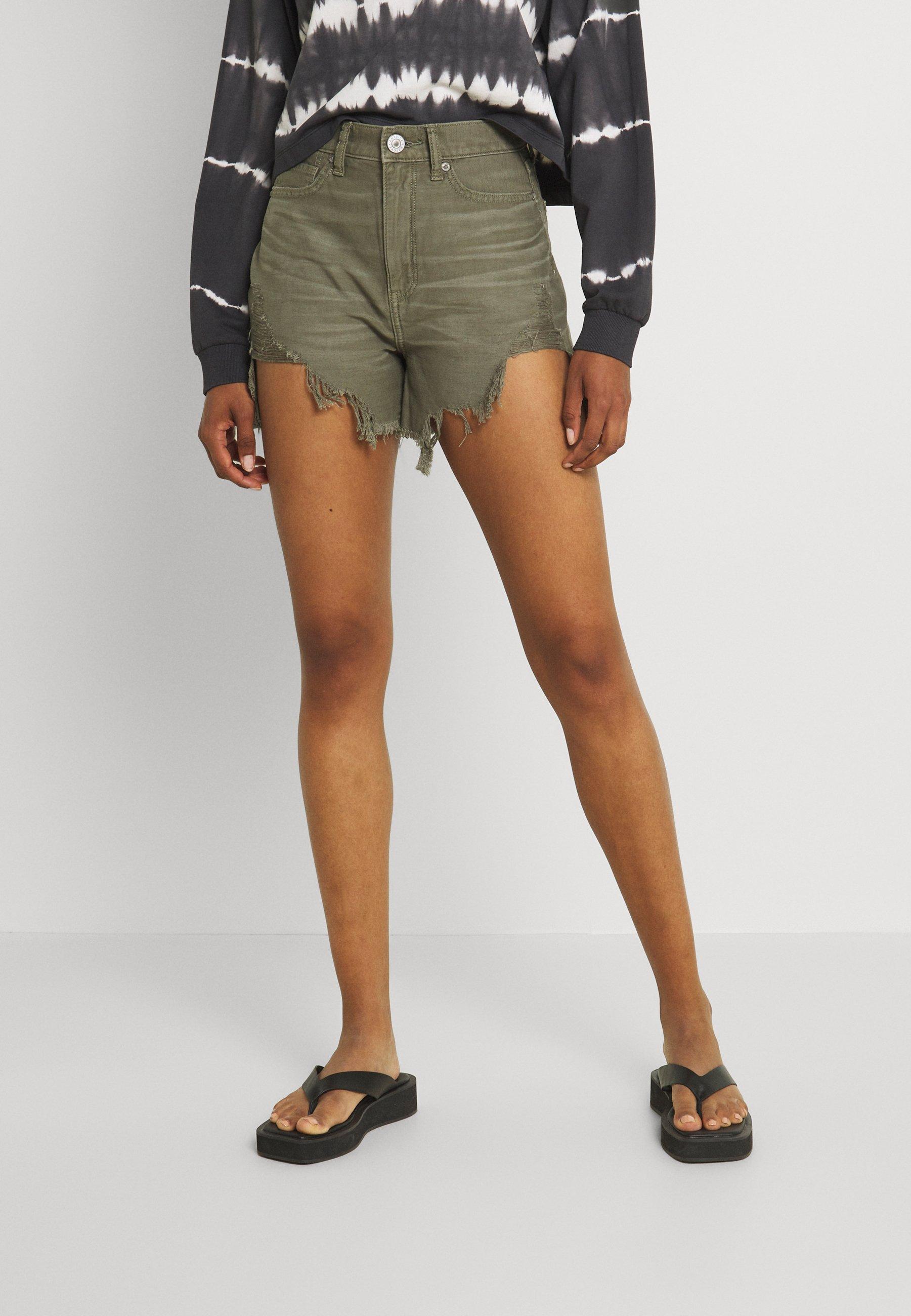 Damer MOM - Jeans Short / cowboy shorts