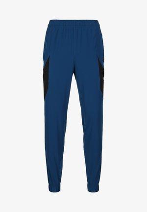 UA FUTURES WOVEN PANT - Træningsbukser - graphite blue/black/white