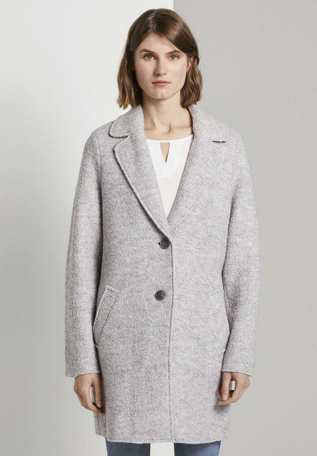 EASY WINTER COAT - Abrigo - mid grey melange