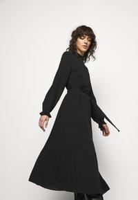 Bruuns Bazaar - NORI SICI DRESS - Shirt dress - black - 3