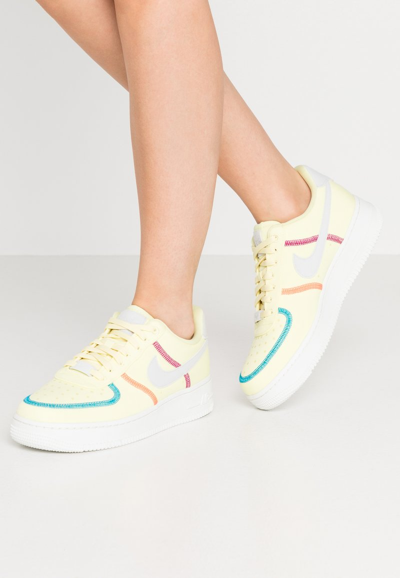 Nike Sportswear - AIR FORCE 1 - Trainers - life lime/summit white/laser blue/hyper orange/cactus flower