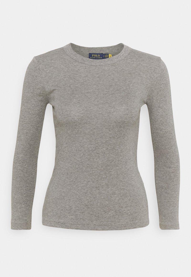 Polo Ralph Lauren - TEE LONG SLEEVE - Maglietta a manica lunga - battalion heather