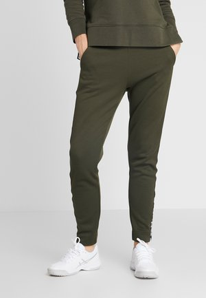 TRACK PANTS  - Tracksuit bottoms - forest night