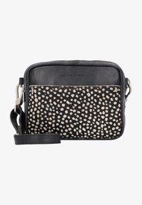 Cowboysbag - Across body bag - black/beige - 1