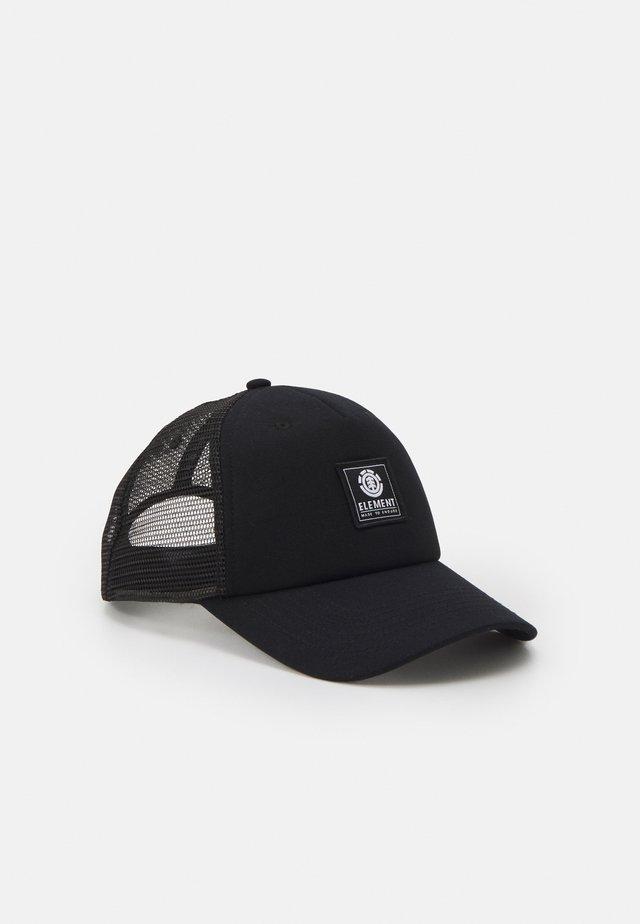 ICON UNISEX - Czapka z daszkiem - all black