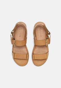 Madewell - CHUNKY LUG  - Platform sandals - desert camel - 5