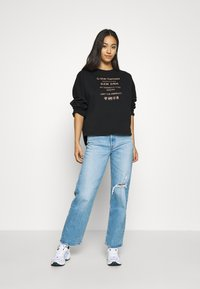 G-Star - GRAPHIC TEXT RELAXED - Sweater - black - 1