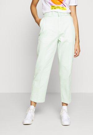 ELIZAVILLE - Spodnie materiałowe - mint