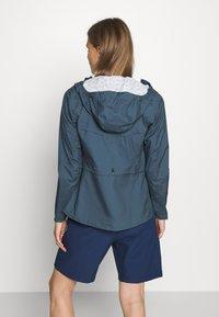 Salomon - LIGHTNING - Hardshell jacket - dark denim - 2