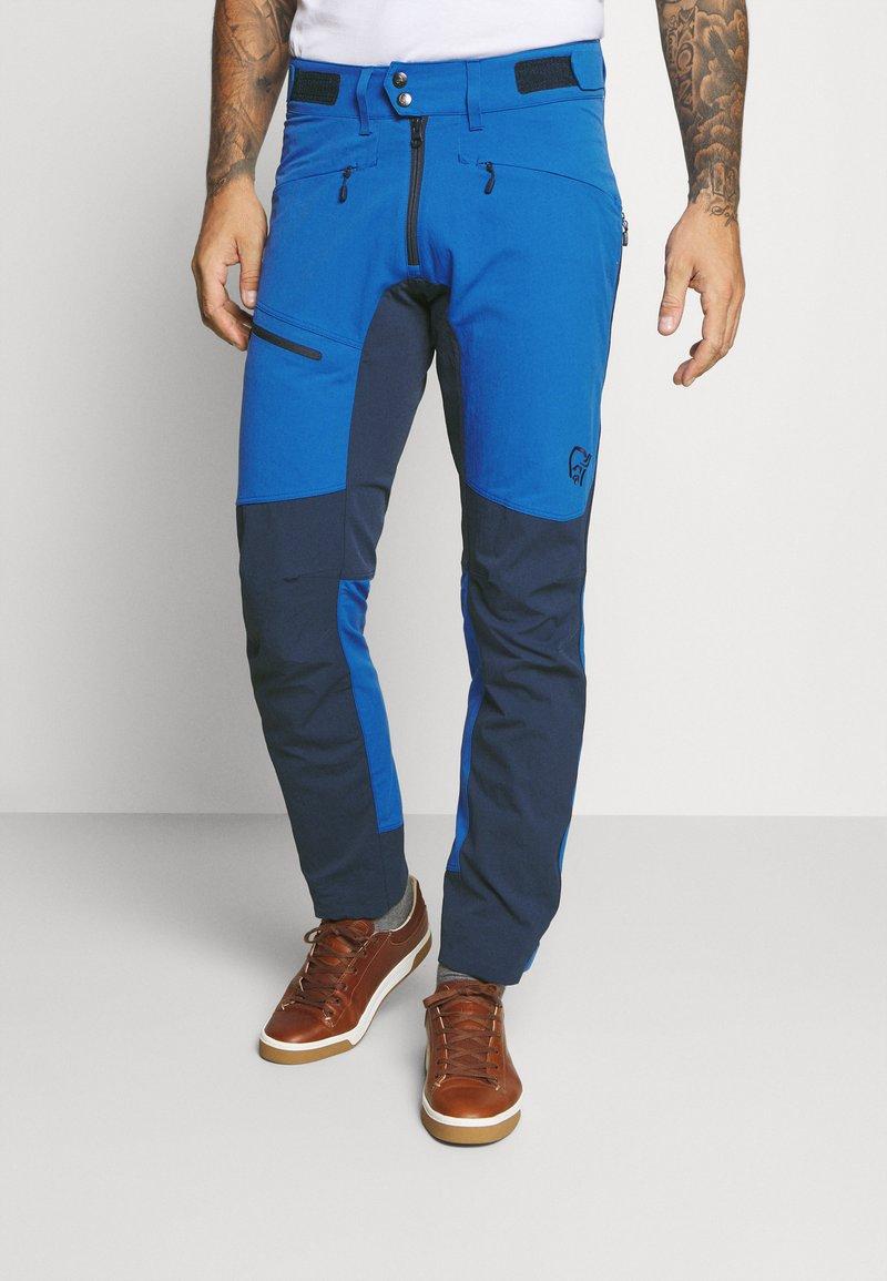 Norrøna - FALKETIND FLEX HEAVY DUTY  - Pantaloni outdoor - blue