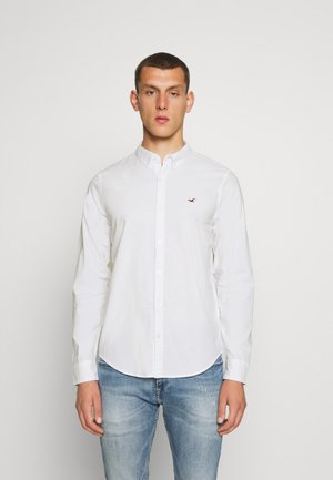 SLIM SOLID - Skjorter - white