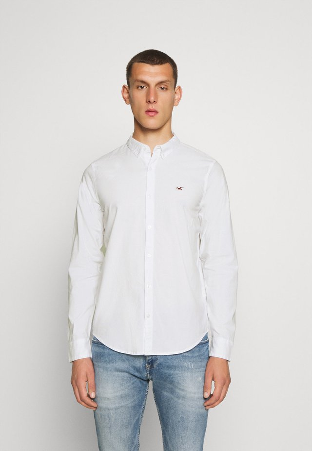SLIM SOLID - Koszula - white