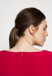 Lauren Ralph Lauren - MID WEIGHT DRESS  COMBO - Day dress - berry sorbet - 4