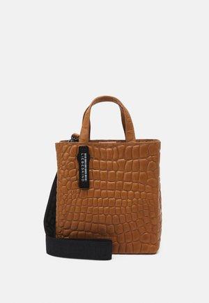 Handbag - golden amber