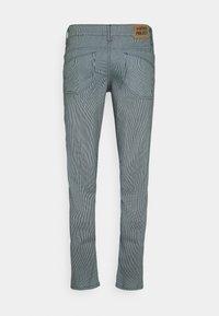 Denim Project - STRIPE - Slim fit jeans - blue - 1