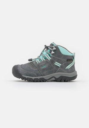 RIDGE FLEX MID WP UNISEX - Chaussures de marche - grey/blue tint