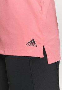 adidas Performance - T-shirt de sport - light pink - 5