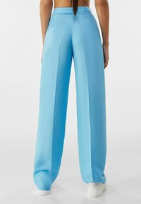 Bershka - Trousers - turquoise - 2