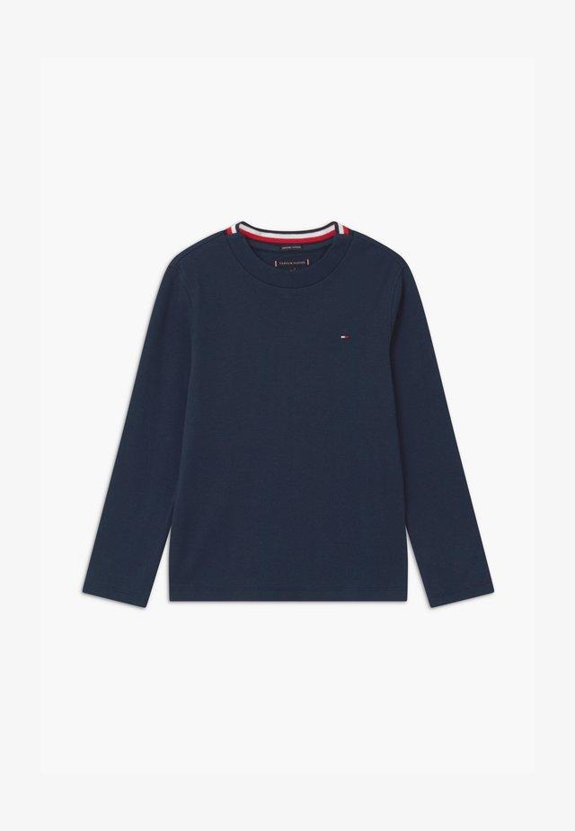 SOLID TEE - Maglietta a manica lunga - blue