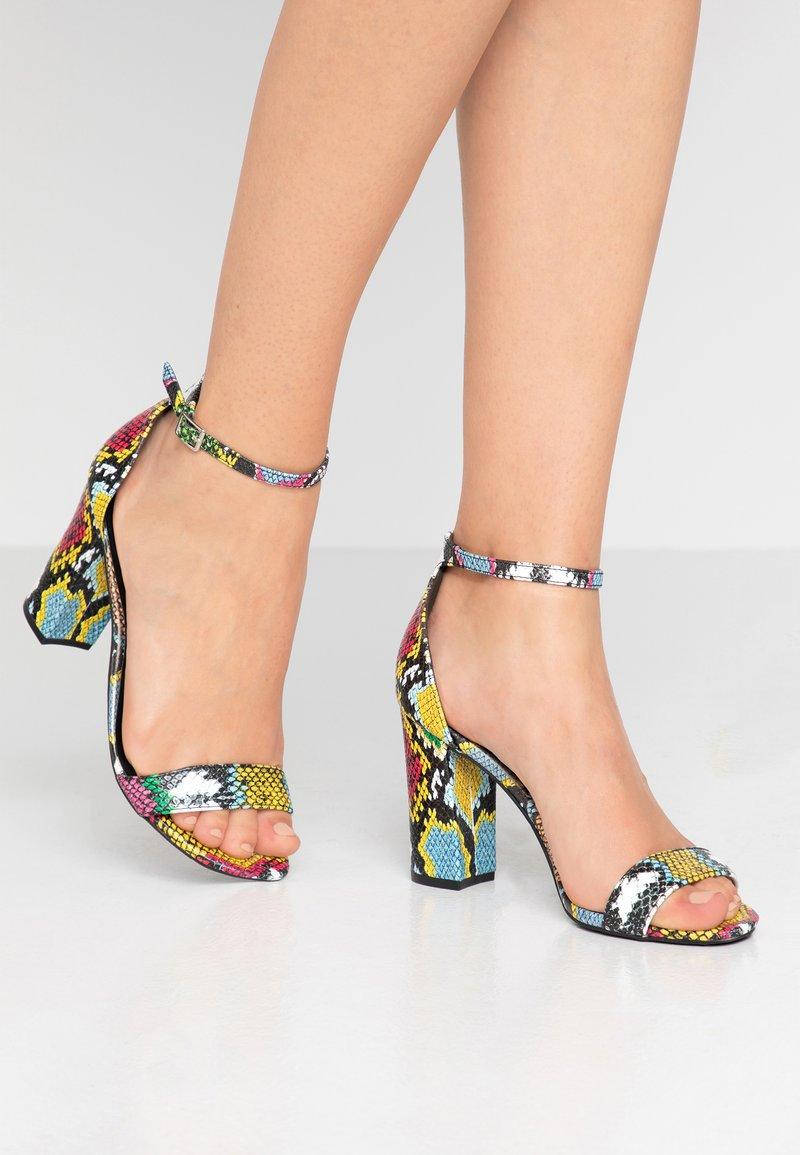 Madden Girl - BEELLA - Sandály na vysokém podpatku - bright multicolor