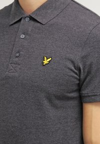 Lyle & Scott - Piké - charcoal marl - 4