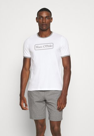 LOUNGESET CREW NECK - Pyjama - white