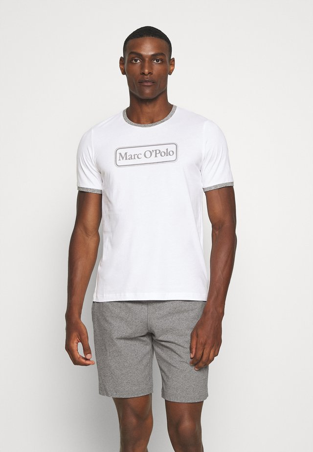LOUNGESET CREW NECK - Pyjama - white