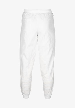 JOGGINGHOSE LARGE LOGO - Tracksuit bottoms - white