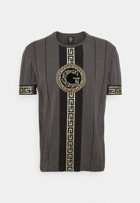 Glorious Gangsta - SANTAGO TEE - T-shirt imprimé - asphalt - 0