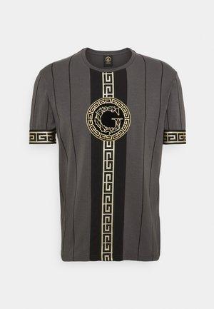 SANTAGO TEE - T-shirt con stampa - asphalt