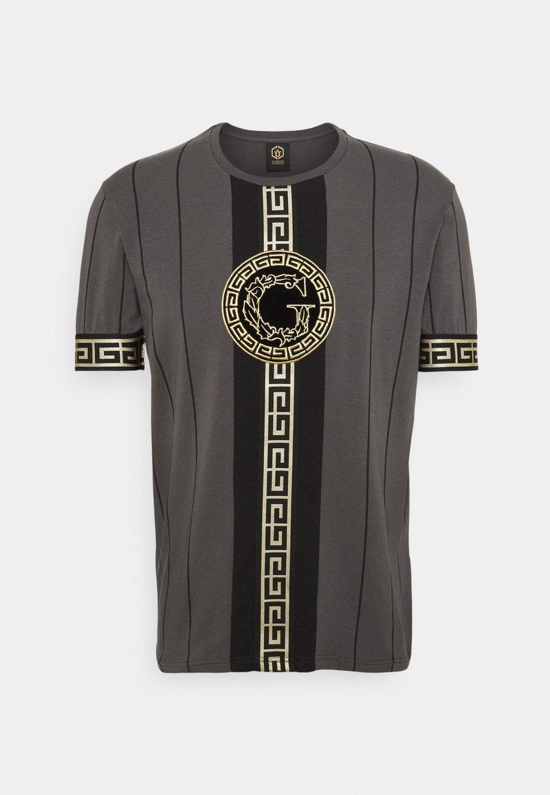 Glorious Gangsta - SANTAGO TEE - T-shirt imprimé - asphalt