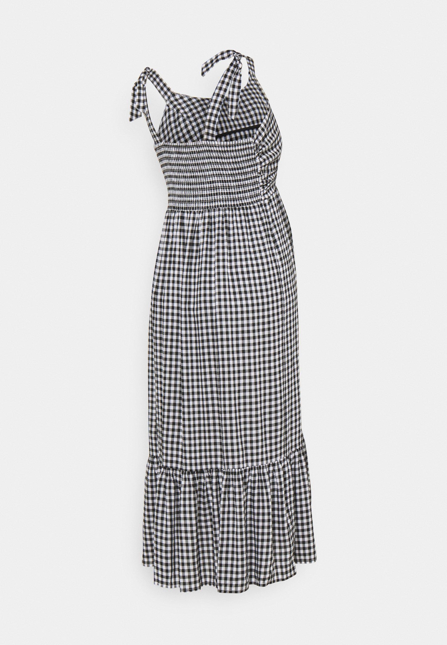 Women GINGHAM NURSING DRESS - Day dress