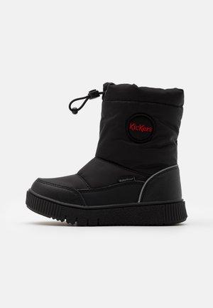 ATLAK UNISEX - Zimní obuv - noir