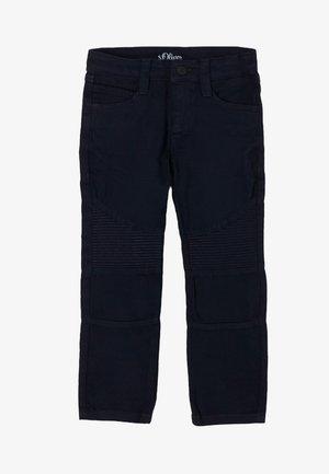 ZIERNÄHTEN - Trousers - dark blue