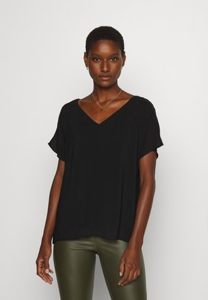 SOFT TOUCH - Blouse - black