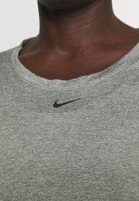 Nike Performance - ONE - Top sdlouhým rukávem - particle grey/heather/black - 4